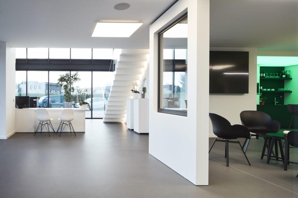Van Doorslaer – Showroom en kantoor Breendonk
